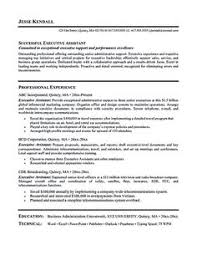 Executive Administrative Assistant Sample Resume by Cover Letter Samples Administrative Assistant Classic Resume