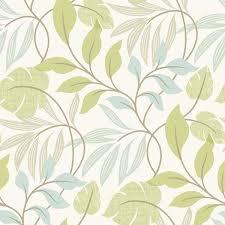 eden green modern leaf trail wallpaper contemporary wallpaper