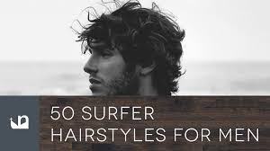 50 surfer hairstyles for men youtube