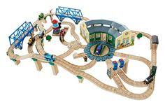 thomas train set wooden table thomas the tank track layouts twrs layout ultimate layout jpg