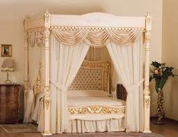 King Size Canopy Bed Frame King Size Wooden Canopy Bed With Curtains Google Search Bed