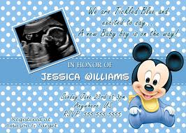 baby mickey mouse baby shower invitation for baby shower interesting baby mickey mouse baby