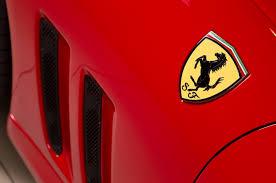 ferrari hood emblem collectible classic 1997 2002 ferrari 550 maranello