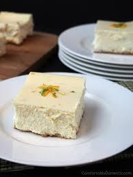 triple citrus cheesecake comfortably domestic