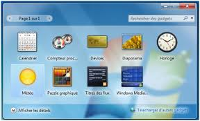 application bureau windows 7 comment installer la météo sur bureau windows 7
