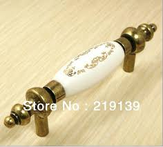 Antique Kitchen Hardware For Cabinets Hole Pitch 76mm Door Knobs Door Locks Cabinet Hardware At