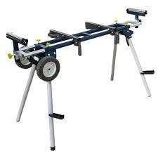 Table Saw Stand With Wheels Powertec Deluxe Miter Saw Stand With Wheels And 110 Volt Power