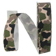 camouflage ribbon camouflage grosgrain ribbon 5 8 hobby lobby