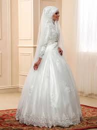wedding dress for muslim sequins appliques sleeves gown muslim arabic wedding