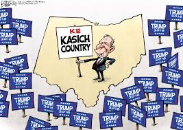 Nate Beeler Cartoons by Nate Beeler Cartoon On Ohio Being Kasich Country Editorial