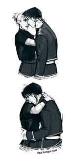 does roy mustang stay blind 12 best roy mustang and riza hawkeye images on roy