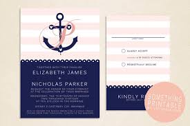 Create Your Own Wedding Invitations Marvelous Anchor Wedding Invitations Theruntime Com