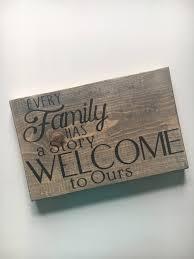 family wood sign home decor wall décor home décor home u0026 living