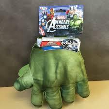 Avengers Halloween Costume Marvel Avengers Hulk Soft Big Hands Halloween Costume Child