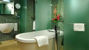22 modern bathroom ideas blending green color into interior design
