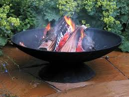 Cooking Fire Pit Designs - inspirations decorative square and round cast iron fire pit