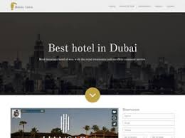 free hotels website templates 40 free css