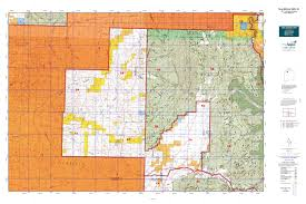 New Mexico Topographic Map by New Mexico Gmu 5a Map Mytopo