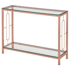 rose gold console table athena rose gold console table emfurn ca