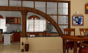 partition wall betweem kitchen and dining room home