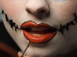 Big Mouth Halloween Makeup Halloween Makeup Tutorial Creepy Ragdoll Hgtv