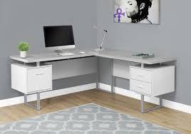 L Corner Desk Darroll L Shape Corner Desk Reviews Allmodern