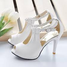 wedding shoes platform hot new wedding shoes with braided high heel bridal shoes