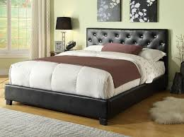 Tufted Bed Frame Queen Bedroom Fabulous Picture Of New On Property Gallery Black Tufted