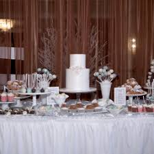 Bridal Shower Dessert Table Unik Cakes Wedding U0026 Speciality Cakes Pastry Shop