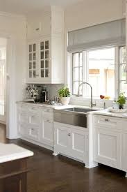 Best  Gray And White Kitchen Ideas On Pinterest Kitchen - Kitchen white cabinets