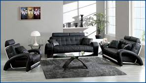 Living Room Ideas With Black Leather Sofa Living Room Deluxe Design Black Leather Sofa White Living Room