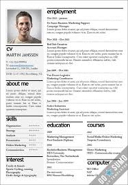 Cv Sjabloon Nederlands pin by justyna makowska on for me cv template sumo