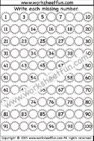numbers u2013 missing free printable worksheets u2013 worksheetfun