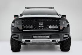 ford raptor side view zroadz z325651 front bumper side openings led light bar mounts 10