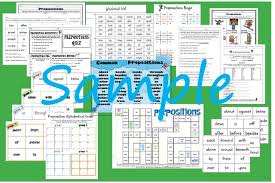 bunch ideas of super teacher worksheets prepositions with