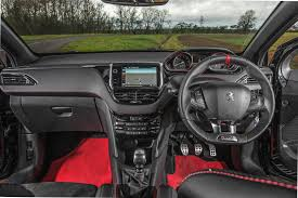 new peugeot sports car peugeot 208 gti 30th 2015 review by car magazine