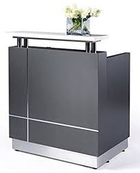 Small Receptionist Desk Small Modern Reception Desk No Installation Required
