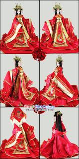 supreme chinese ancient princess wedding clothing and