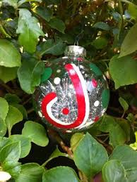 christmas ornaments with initials this listing is for 1 personalized single initial christmas
