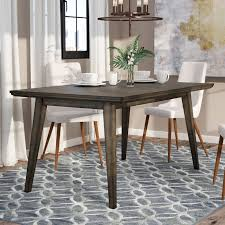 Dining Table With Grey Chairs Modern Grey Dining Kitchen Tables Allmodern