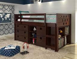 Low Loft Bunk Bed Alvar Low Loft Bed