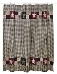 Primitive Curtians by Plum Creek Shower Curtain Primitive Country Primitives And