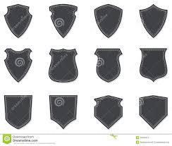 blank shields u0026 badges stock vector image of authority 30465074
