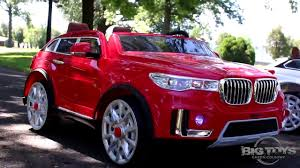 bmw sport car 2 seater luxury ride on suv spotrax ride on rc power wheels 2 seater car