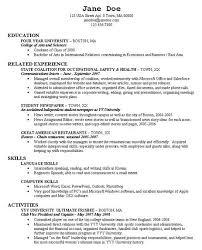 graduate resume examples free sample nursing resume
