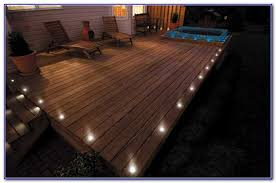 Led Solar Deck Lights - flush mount solar led deck lights decks home decorating ideas