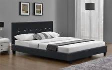 super king size leather bed ebay
