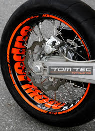 wheel sticker supermoto ktm smc 690 lc4 660 625 640 exc smr 450