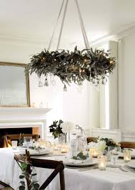 fresh christmas decorations for nature lovers chandeliers