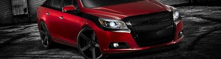 2013 chevy malibu custom grilles billet mesh led chrome black